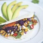 Wegańskie tacos z tofu i ciecierzycą