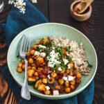 Ciecierzyca z cukinią w pomidorach – obiad w 15 minut